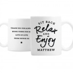 Personalised Ceramic Mug - Sit Back & Relax