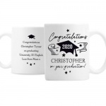 Personalised Ceramic Mug - Graduation