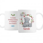 Personalised Ceramic Christmas Mug - Tatty Teddy