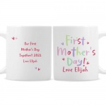 Personalised Ceramic Mug - Happy First Mother's Day