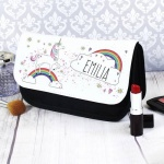 Personalised Make Up Bag - Unicorn