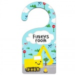 Personalised Door Hanger - Digger