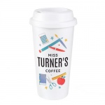 Personalised Double Walled Travel Mug - Teacher