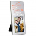 Personalised 2x3 Photo Frame - Love is All You Need