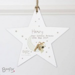 Personalised Boofle Wooden Star - Baby