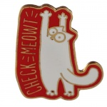 Enamel Pin Badge - Simon's Cat
