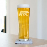 Papa Bear Pint Glass