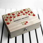Personalised Recipe Box - Orchard