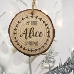 Personalised Christmas Tree Decoration - Baby's First